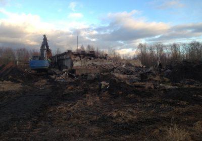 Mazuta sūknētavas ēku un mazuta tvertnes demontāža Valmieras cietuma teritorijā