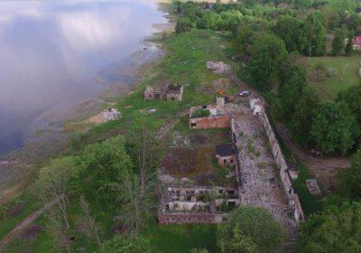 Viļakas linu fabrikas ēku drupu demontāža un teritorijas sakopšana