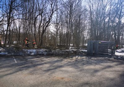 Vidi degradējošo būvju nojaukšana Alūksnes muižas parka teritorijā
